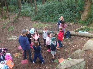 Forest school October 2015