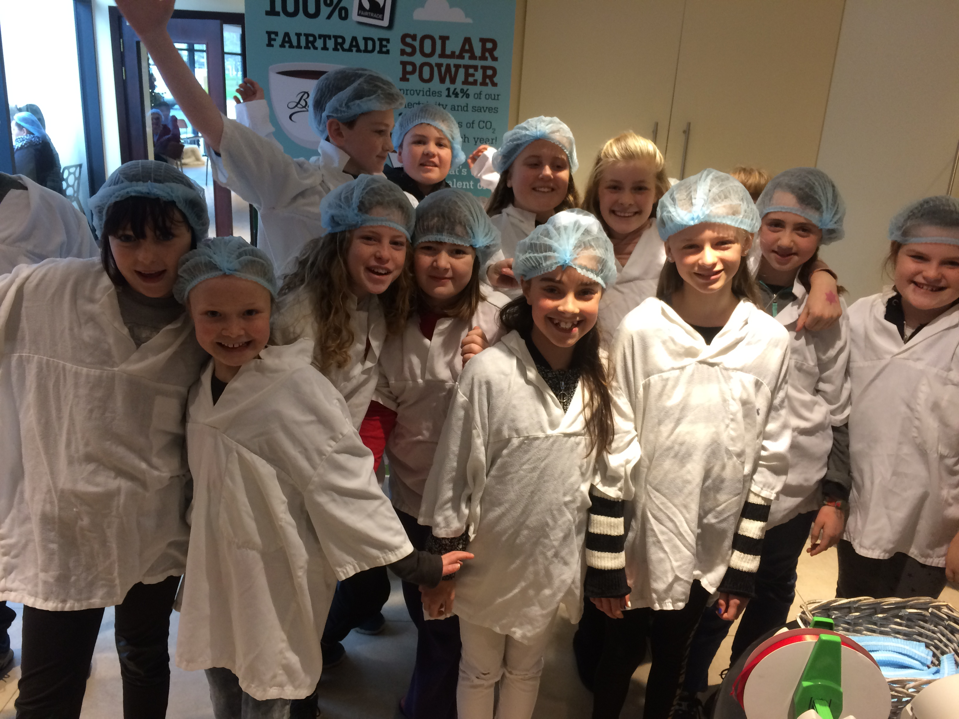 Class trip to The Butlers Chocolate Factory