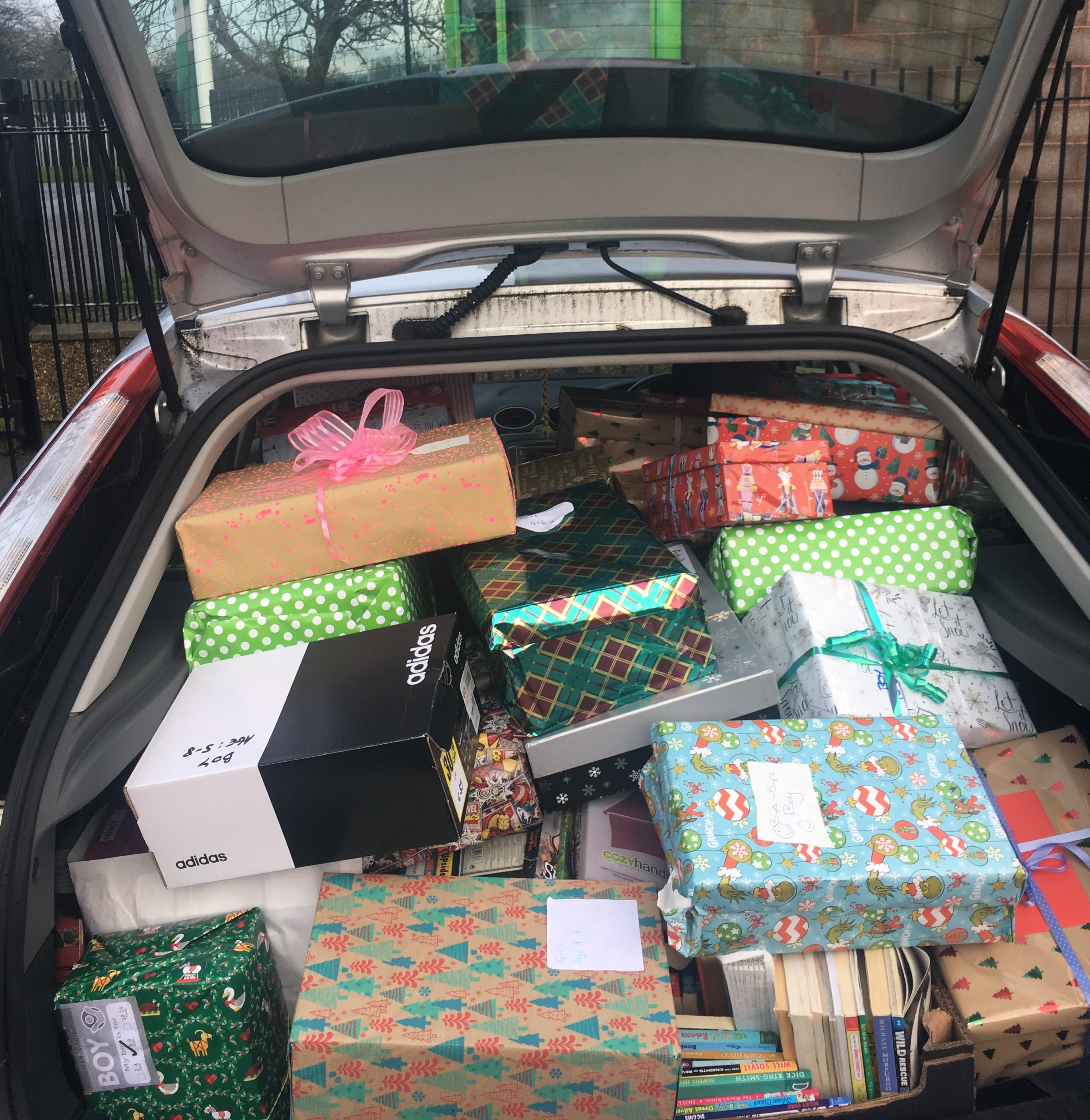6th Class #FillAFocus Shoebox Appeal for Inner City Helping Homeless