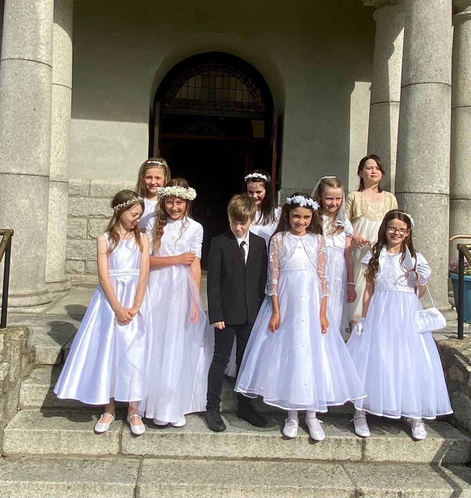 Congratulations to the First Communion Group